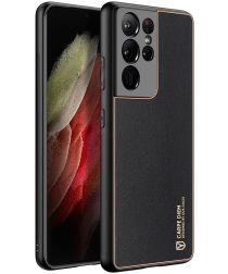 Dux Ducis Yolo Samsung Galaxy S21 Ultra Hoesje Back Cover Zwart
