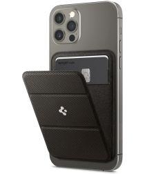 Spigen Smart Fold Wallet MagSafe Kaarthouder iPhone 12 Serie Grijs