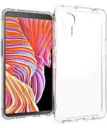 Samsung Galaxy Xcover 5 Hoesje Dun TPU Back Cover Transparant