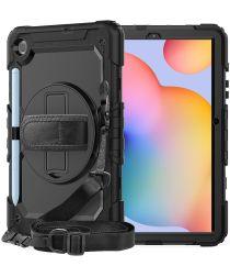 Samsung Galaxy Tab S6 Lite Hoes Full Protect met Kickstand Zwart