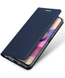 Dux Ducis Skin Pro Xiaomi Redmi Note 10 / 10S Hoesje Wallet Case Blauw