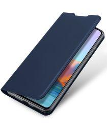 Dux Ducis Skin Pro Xiaomi Redmi Note 10 Pro Hoesje Book Case Blauw