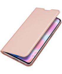 Dux Ducis Skin Pro Series Xiaomi Poco F3 Hoesje Wallet Book Case Roze