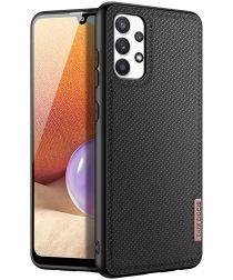 Dux Ducis Fino Series Samsung Galaxy A32 4G Hoesje Back Cover Zwart