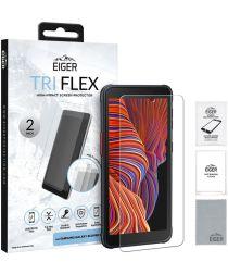Eiger Tri Flex Samsung Galaxy Xcover 5 Screen Protector [2-Pack]