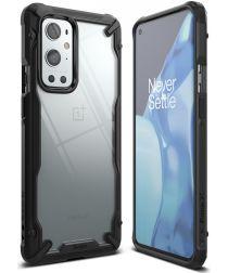 Ringke Fusion X OnePlus 9 Pro Hoesje Back Cover Transparant Zwart