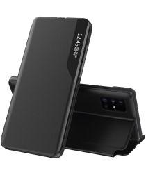 Samsung Galaxy A52 Hoesje met Stand Book Case Zwart