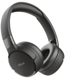 Trust Zena Bedraad/Bluetooth Draadloze On-Ear Koptelefoon Zwart
