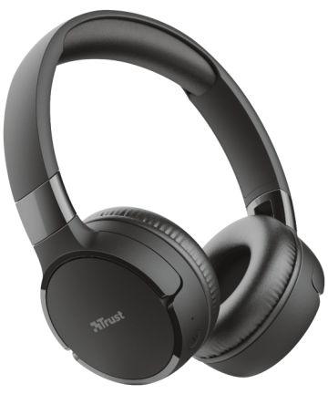 Trust Zena Bedraad/Bluetooth Draadloze On-Ear Koptelefoon Zwart Headsets