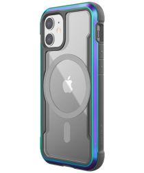 Raptic Shield Pro iPhone 12 Mini Hoesje MagSafe Transparant/Iridescent