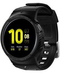 Spigen Rugged Armor Galaxy Watch Active 2 4MM Hoesje en Bandje Zwart