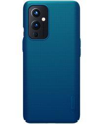 Nillkin Super Frosted Shield Hoesje OnePlus 9 Blauw