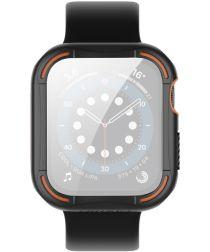 Nillkin Apple Watch 44MM Hoesje Bumper met Tempered Glass Zwart