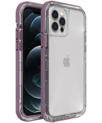 LifeProof Next Apple iPhone 12 / 12 Pro Hoesje Transparant/Paars