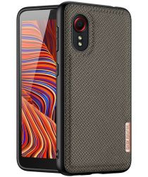 Dux Ducis Fino Series Samsung Galaxy Xcover 5 Hoesje Back Cover Groen