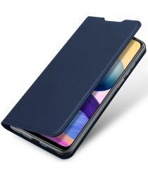 Dux Ducis Skin Pro Xiaomi Redmi Note 10 5G/Poco M3 Pro Hoesje Blauw