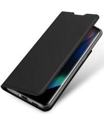 Dux Ducis Skin Pro Series Oppo Find X3 Pro Hoesje Wallet Case Zwart