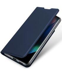 Dux Ducis Skin Pro Series Oppo Find X3 Pro Hoesje Wallet Case Blauw