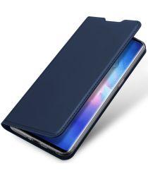 Dux Ducis Skin Pro Series Oppo Find X3 Neo Hoesje Wallet Case Blauw