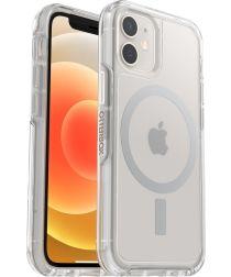 OtterBox Symmetry+ Apple iPhone 12 Mini Hoesje met MagSafe Transparant
