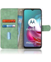 Motorola Moto G10 / G20 / G30 Hoesje Wallet Book Case Groen