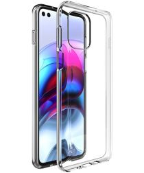 IMAK UX-5 Motorola Moto G100 Hoesje Flexibel en Dun TPU Transparant