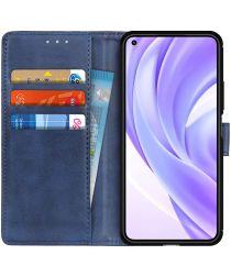 Xiaomi Mi 11 Lite 4G/5G Hoesje Portemonnee Book Case Blauw