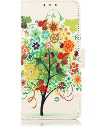 Xiaomi Mi 11 Lite 4G/5G Hoesje Portemonnee met Tree Print