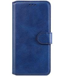 Xiaomi Poco F3 Hoesje Portemonnee Book Case Kunstleer Blauw