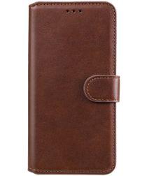 Xiaomi Poco F3 Hoesje Portemonnee Book Case Kunstleer Bruin