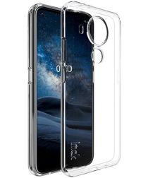 IMAK UX-5 Nokia 5.4 Hoesje Flexibel en Dun TPU Back Cover Transparant