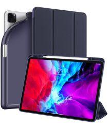 Dux Ducis Osom Series iPad Pro 12.9 (2021) Hoes Tri-Fold Blauw