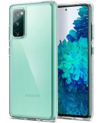 Samsung Galaxy S21 FE Hoesje Dun TPU Back Cover Transparant