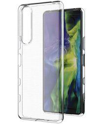 Sony Xperia 1 III Hoesje Dun TPU Back Cover Transparant
