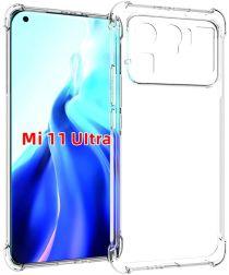 Xiaomi Mi 11 Ultra Hoesje Schokbestendig TPU Back Cover Transparant