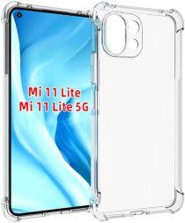 Xiaomi Mi 11 Lite 4G / 5G Hoesje Schokbestendig TPU Transparant