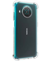 Nokia X10/X20 Hoesje Schokbestendig Transparant