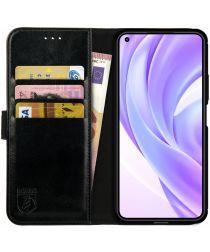 Rosso Element Xiaomi Mi 11 Lite 4G/5G Hoesje Book Cover Wallet Zwart