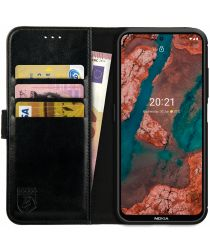 Rosso Element Nokia X10/X20 Hoesje Book Cover Wallet Zwart