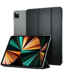 Spigen Smart Fold Apple iPad Pro 12.9 (2021) Hoes Book Case Zwart