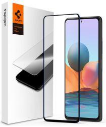 Spigen Glass Xiaomi Redmi Note 10 Tempered Glass Zwart