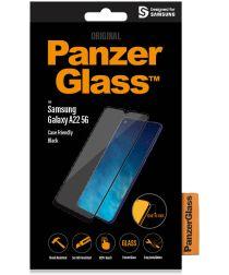 PanzerGlass Samsung Galaxy A22 5G Screen Protector Case Friendly Zwart