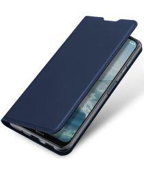 Dux Ducis Skin Pro Series Nokia G10/G20/6.3 Hoesje Portemonnee Blauw