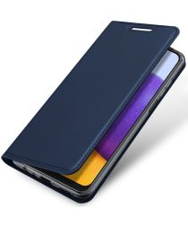 Dux Ducis Skin Pro Series Samsung Galaxy A22 4G Hoesje Blauw