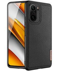 Dux Ducis Fino Series Xiaomi Poco F3 / Mi 11i Hoesje Back Cover Zwart