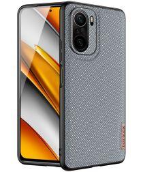 Dux Ducis Fino Series Xiaomi Poco F3 / Mi 11i Hoesje Back Cover Blauw