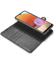 Samsung Galaxy A32 4G Hoesje 2-in-1 Book Case en Back Cover Zwart