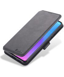 AZNS Xiaomi Mi 9T (Pro) Hoesje Wallet Book Case Kunstleer Zwart