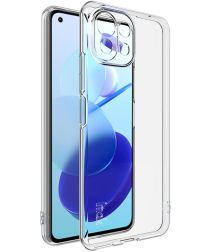 IMAK Xiaomi Mi 11 Lite 4G/5G Hoesje Flexibel en Dun TPU Transparant