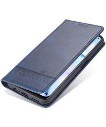 AZNS Oppo A74 5G Hoesje Portemonnee Book Case Kunstleer Blauw
